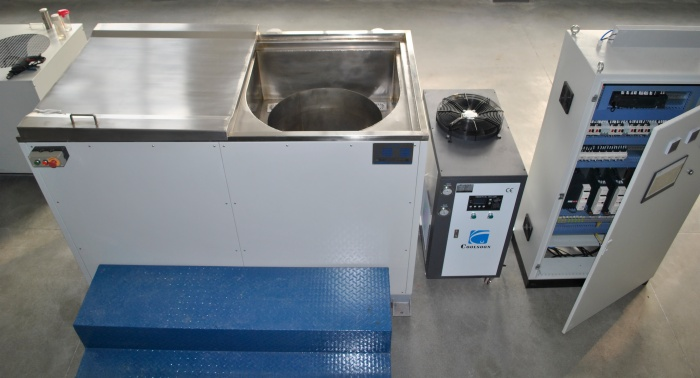 Semi Automatic Zinc Flake Coating Machine DSB D650